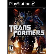 Jogo Ps2 - Transformers - Revenge Of The Fallen