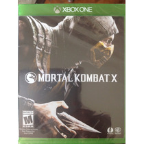 Mortal Kombat X Xbox One Lacrado Original