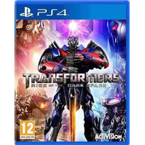 Transformers Rise Of The Dark Spark Ps4 Original
