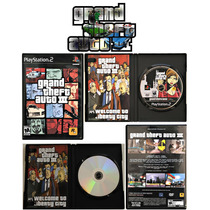 Grand Theft Auto Gta Iii 3 Original Black Label Rockstar