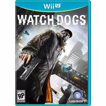 Watch Dogs - Nintendo Wii U - Lacrado - Novo - E-sedex 6,07