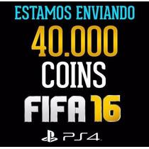 40.000 Mil Coins Fifa 16 Ps4 Na Sua Conta!