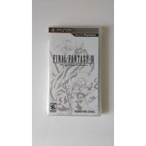 Final Fantasy 4 The Complete Collection Psp - Novo - Lacrado