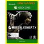 Mortal Kombat X - Xbox One - Midia Digital - Apenas Offline