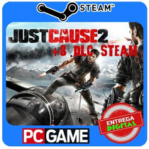 Just Cause 2 + 8 Dlc Steam Cd-key Global