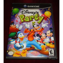 Game Cube: Disney Party Americano!! Raridade!! Jogaço!!
