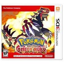 Jogo Pokemon Omega Ruby Nintendo 3ds - Original Lacrado