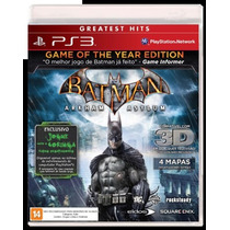 Batman: Arkham Asylum Game Of The Year Edition Ps3 Original