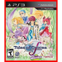 Tales Of Graces F Ps3 Psn Play 3 Rpg Promocao!!