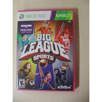 Big League Sports Kinect Completo - Original Xbox 360 Ntsc