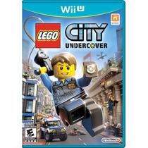 Lego City Undercover Nintendo Wii U Lacrado Pronta Entrega