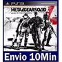 Metal Gear Solid 4 Guns Of The Patriots Digital Ps3 Psn