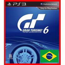 Gran Turismo 6 Ps3 Psn Dublado Portugues Br