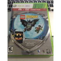 Jogo Xbox 360 Lego Batman The Videogame Original + Filme !!!