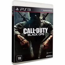 Call Of Duty Black Ops 1 Mídia Física Ps3 Novo - Lacrado