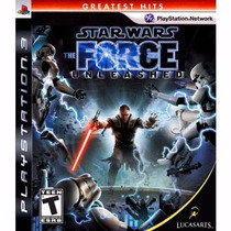 Jogo Ps3 Star Wars The Force Unleashed Ps3 Greatest Hits