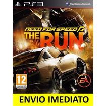 Jogo Psn Need For Speed The Run Ps3 Digital Envio Agora