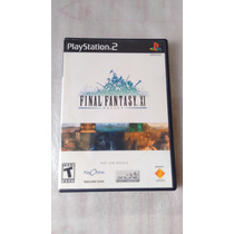 Final Fantasy Xi Original Americano Completo Ps2