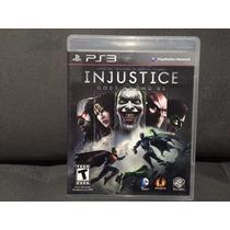 Jogo / Game Ps3 - Injustice Gods Among Us