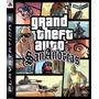 Grand Theft Auto Sanandreas , Gta , Ps3 , Código Psn