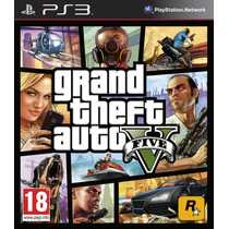 Jogo Novo Grand Theft Auto V Gta 5 Para Playstation 3