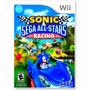 Jogo Sonic & Sega All-stars Racing Wii Físic + Pôster Brinde