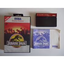 Jurassic Park Completo Sega Master System Caixa E Manual