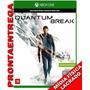 Quantum Break Xbox One Mídia Física Pt Br Lacrado