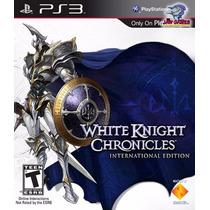 Jogo Ps3 - White Knight Chronicles - Novo