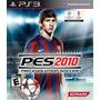 Pro Evolution Soccer Pes 2010 Jogo Ps3 Usado