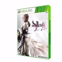 Jogo Xbox360 Final Fantasy Xiii-2 Produto Original Novo