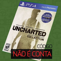 Código Do Jogo Uncharted The Nathan Drake Collection Ps4
