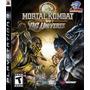 Jogo Ps3 - Mortal Kombat Vs Dc Universe - Usado