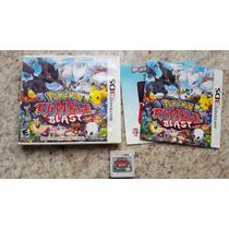 Pokemon Rumble Blast Completo Na Caixa - Nintendo 3ds