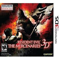 Resident Evil The Mercenaries 3d (semi Novo) 3ds