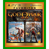 God Of War Collection Favoritos Ps3 - Lacrado