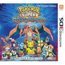 Pokemon Super Mystery Dungeon - 3ds - Novo - Lacrado