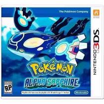 Jogo Pokémon Alpha Sapphire Nintendo 3ds Original Lacrado