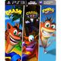 Crash Bandicoot 1, 2 E 3 Trilogia - Psn Ps3 - Riosgames