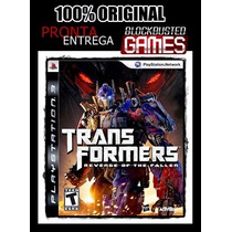 Ps3 - Transformers Revenge Of The Fallen