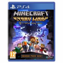 Jogo Minecraft Story Mode Season Pass Disc Playstation 4
