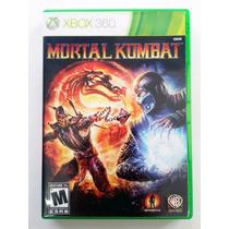 Mortal Kombat 9 Xbox 360 Original Mídia Física