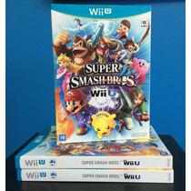 Super Smash Bros - Nintendo Wii U - Novo Lacrado C/luva!!!