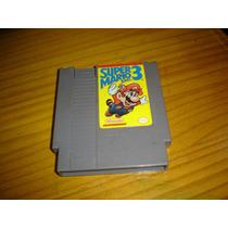Nintendo Nintendinho Nes Super Mario Bros 3 Original!