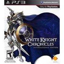 Ps3 White Knight Chronicles [usado]