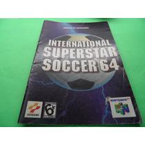 Manual International Super Star Soccer 64 Nintendo N64