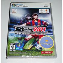 Pes 2011 Pro Evolution Soccer Esporte Futebol Pc Original