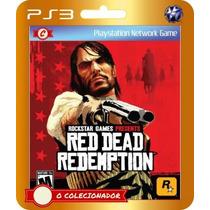 Promoção! Red Dead Redemption (código Ps3)