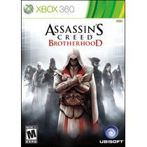Assassins Creed:brotherhood Original Xbox 360 + Frete Gratis