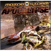 Motorstorm® Apocalypse Jogos Ps3 Codigo Psn